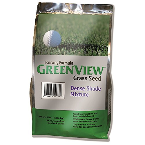 GreenView Fairway Formula Grass Seed Dense Shade Mixture, 3 lb Bag