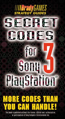 Price comparison product image Secret Codes for Sony PlayStation, Volume 3 (Official Strategy Guides) (Vol 3)