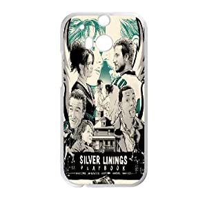 DIY Stylish Printing Silver Linings Playbook Cover Custom Case For HTC One M8 V6Q872209