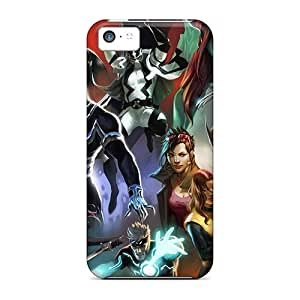 Series Skin Case Cover For Iphone 5c(x Force)