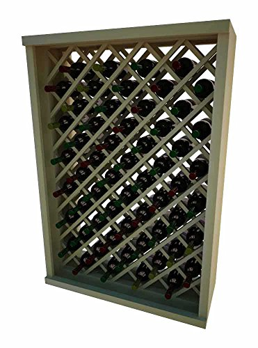 Vintner Series Wine Rack - Individual Diamond Bin - 4 Ft - Pine with ()