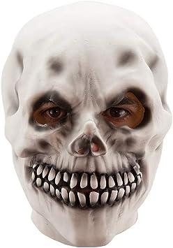 DISBACANAL Máscara de Esqueleto Skull: Amazon.es: Juguetes y juegos