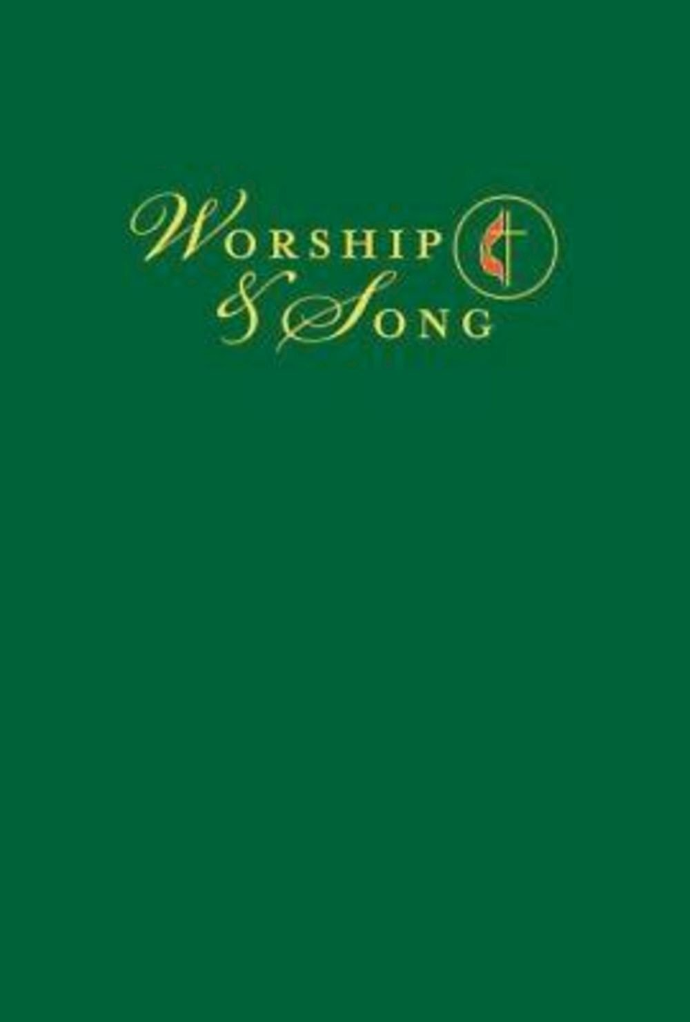 Worship & Song Pew Edition with Cross & Flame
