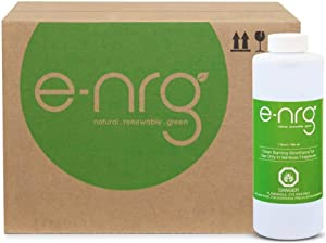 e-NRG Bio Ethanol Fireplace & Fire Pit Fuel - Fuel for Indoor/Outdoor Ventless Fireplace/pits, 16 Quarts, Clean Burning, Signature Bright Orange Flame