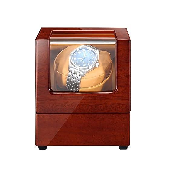 Zyy Premium Caja Giratoria para Relojes Automatico, Motor ...
