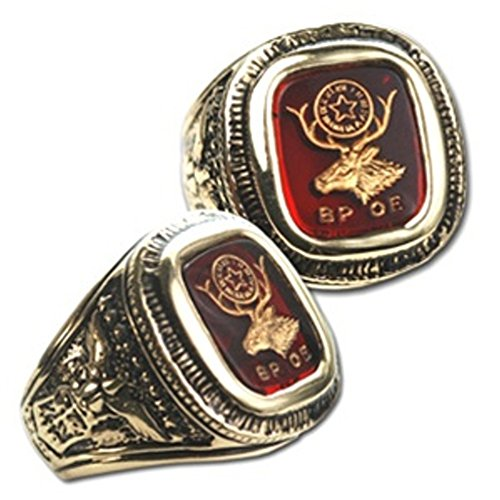 Men's Elks Ring (12) - Elk Ring