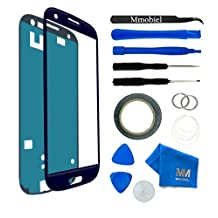 MMOBIEL Front Glass for Samsung Galaxy S3/S3 Neo i9300 i9301 Series(Blue)Display Touchscreen incl 12 pcs Tool Kit/Pre-cut Sticker/Tweezers/Roll of Adhesive Tape/Metal Wire/cleaning cloth and Manual