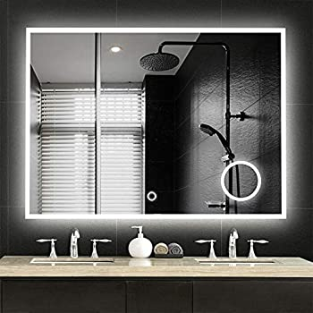 Amazon Com Neutype Large Led Mirrors Wall Mounted