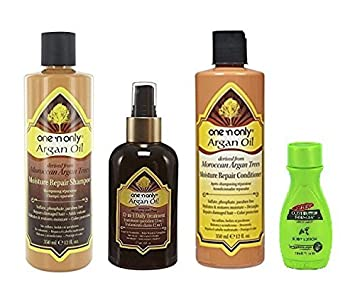 One n Only Argan Oil Moisture Repair Kit with Palmer s Travel Size Body Lotion
