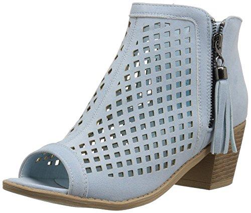 Brinley Co Women's Perla Ankle Boot Blue
