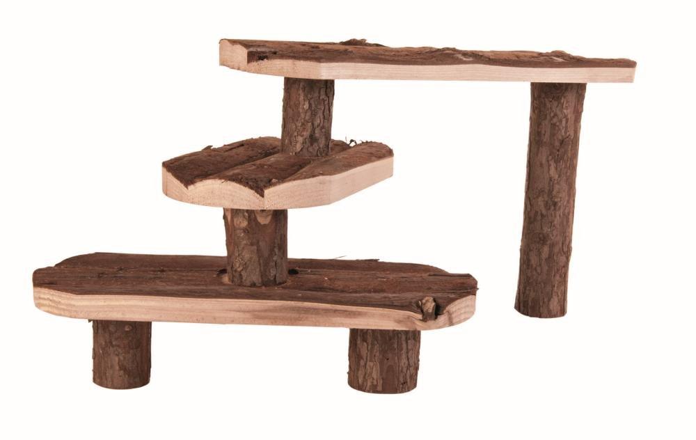 Trixie Natural Living escalier pour petits animaux, 38 × 24 cm 4011905062143