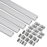 uxcell LED Aluminum Channel - 0.5M/1.64Ft Led