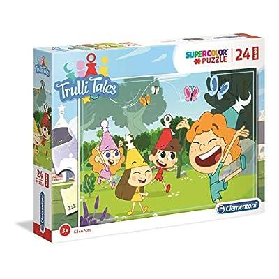 Clementoni Supercolor Puzzle Trulli Tales 24 Pezzi Maxi Multicolore 28504