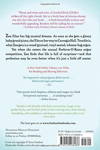 A Crooked Kind Of Perfect Linda Urban 9780152066086 Amazon Books