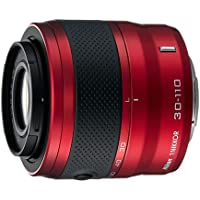 Nikon 1 30-110mm f/3.8-5.6 VR Nikkor Lens (Red)