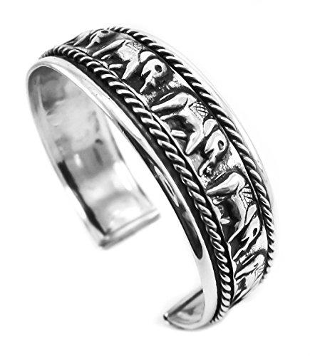 elephant bracelet hair bracelets for men sterling bangle good luck cuff jade