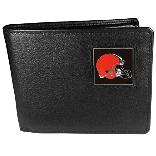 Cleveland Browns Nfl Leather - NFL Cleveland Browns Leather Bi-fold Wallet