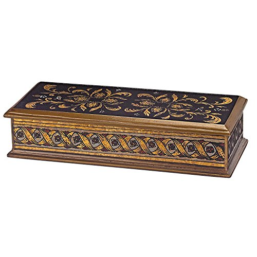 Badash Crystal - Classical Black Large Box 12 inch x 8 inch x 4.5 inch