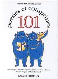 101 Poésies et comptines par Corinne Albaut