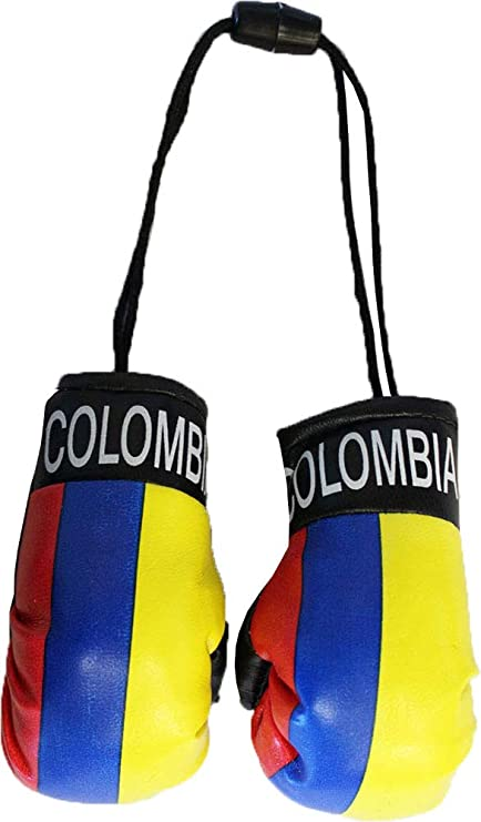 Amazon.com: Colombia – Mini guantes de boxeo: Jardín y ...