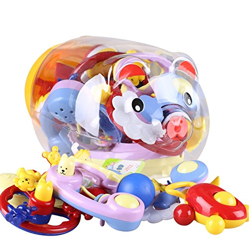 Sproutoy Rattle Teether Colorful Storage product image