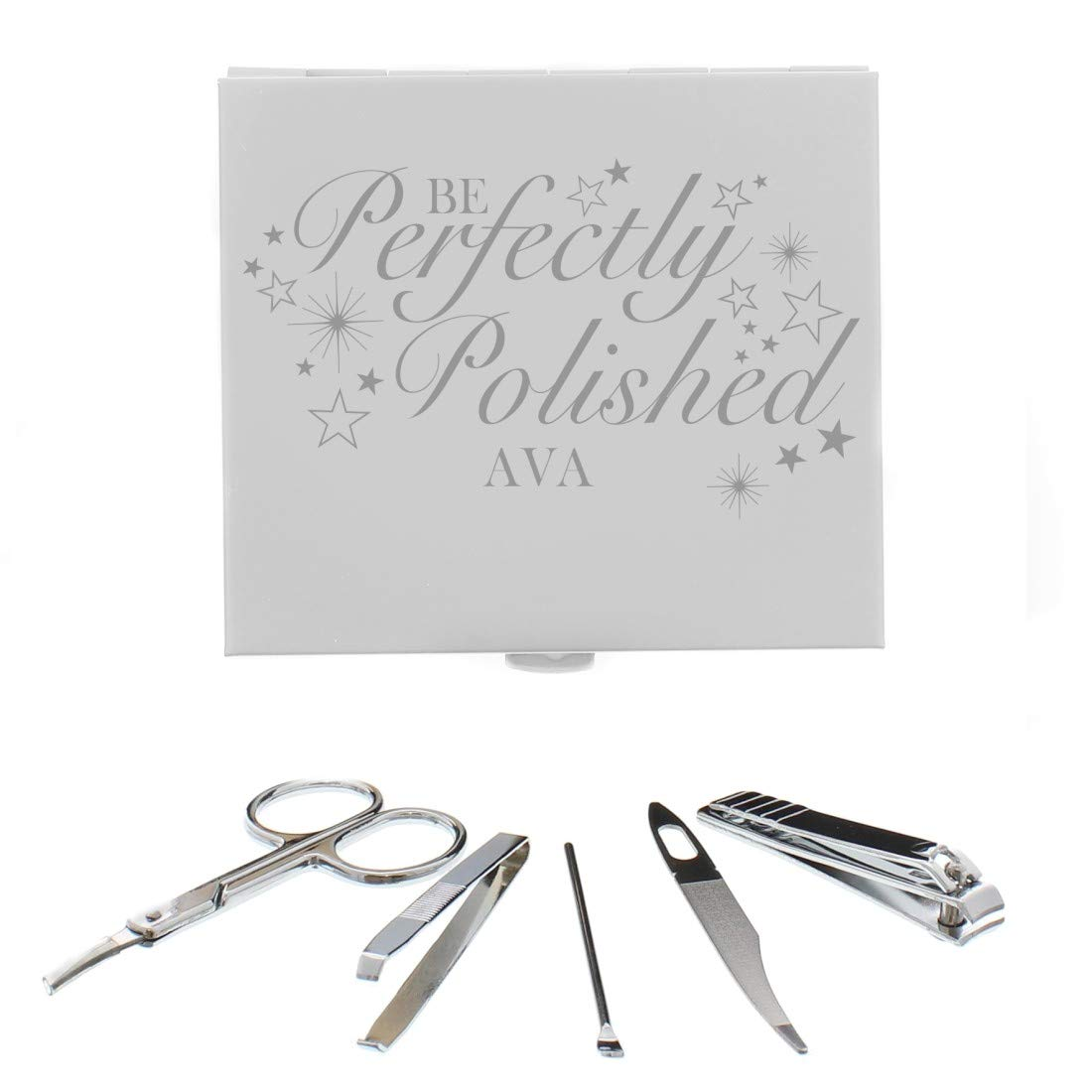 GiftRush Personalised Perfectly Polished Manicure Set