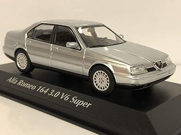 Alfa Romeo 164 3.0 V6 Super Silber Metallic 1987-1997 1//43 Minichamps Maxichamps