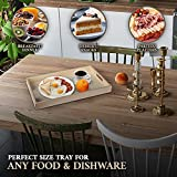 Hammont Wooden Nested Serving Trays - Five Piece