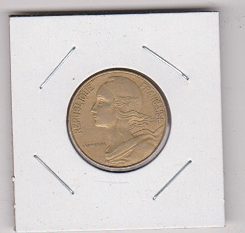 1977 France Capped Bust to Left Twenty Cent Piece Choice Extremely Fine