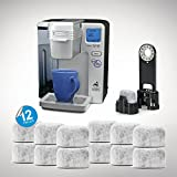 Pack of 12 Replacement Charcoal Water Filters for