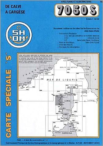 Carte Corse Nord.Amazon Fr Carte Marine Corse Nord Ouest Cartes Epshom Livres
