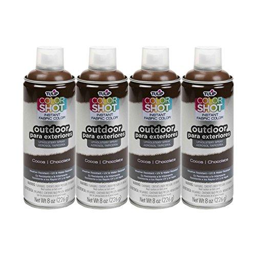 Bulk buy: Tulip ColorShot Outdoor Upholstery Spray Paint 8 oz. 4-pack, - Patio Paint Oz 8