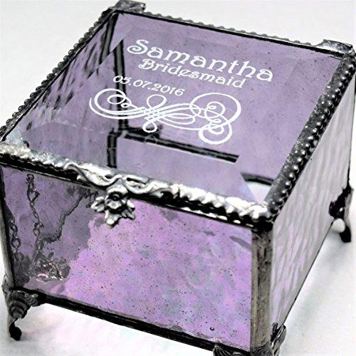 J Devlin Box 836 EB235 Engraved Purple G - Elegant Purple Box Shopping Results