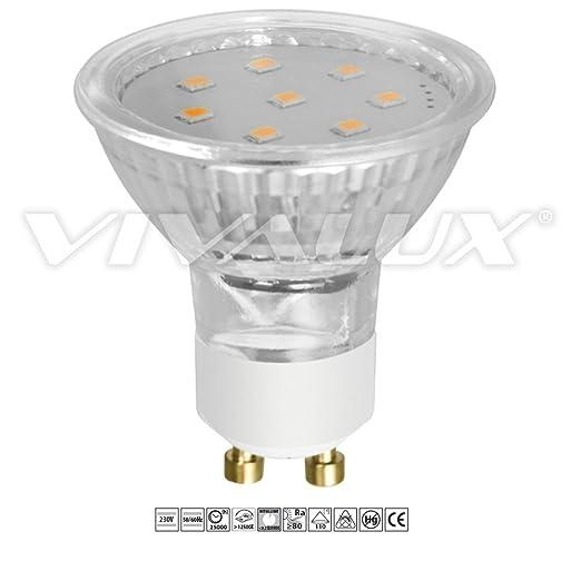 Vivalux Mobi bombilla LED 3 W, GU10, 230 V, 3000 K, luz