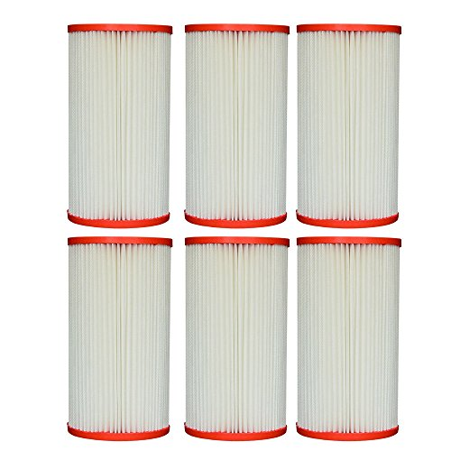 Pleatco Advanced PC7-120 Coleco F120 Pool Replacement Cartridge Filter (6 Pack)