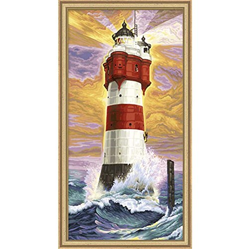 LIGHTHOUSE PAINT BY NUMBER KIT