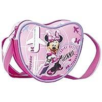 borsetta bambina con tracolla a forma di cuore minnie voyage