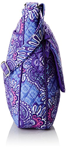 Zip Cotton Bradley Signature Double Tapestry Mailbag Lilac Vera 1EOUwqxw