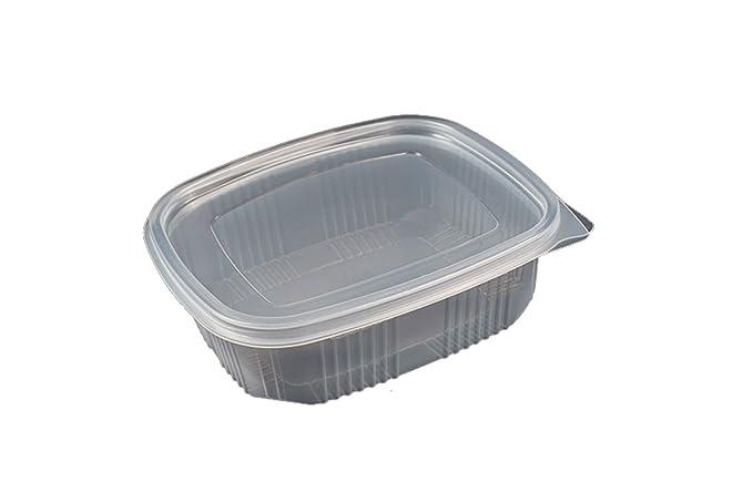 Pack de 25 recipientes desechables con tapa, para alimentos.APTO ...