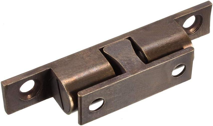 Schrank Schublade T/ür Kugel F/änger Verschluss Verriegeln Messing 7mm Dmr sourcing map 5 Stk DE de