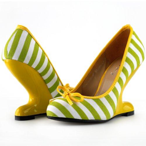 Show Story - punta cerrada mujer Amarillo - amarillo