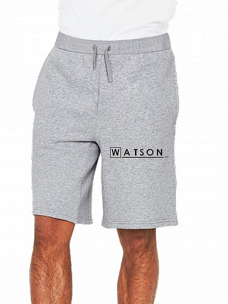 Sherlock Dr Watson Md Mens Casual Short Trouser