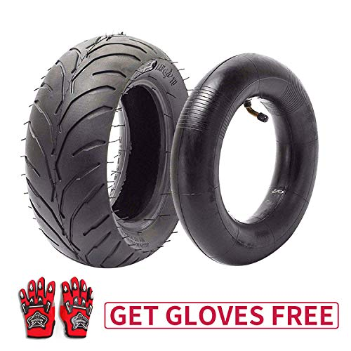 110/50-6.5 Tire and Inner Tube for 49cc Mini Pocket Rocket Bike,Thicker Tire and Tube 110 50 6.5,Free Red Gloves (110 Pocket Rocket)