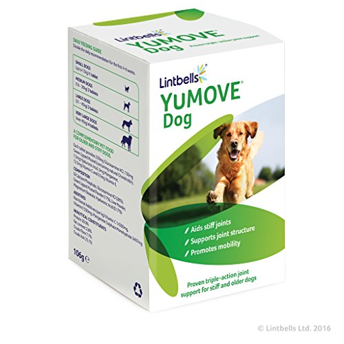 Lintbells YuMOVE Dog Mobility and Joint Health Supplement for Dogs 120 Tablets (120 Tablets Dog)