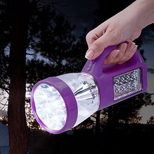 Wakeman-Outdoors-3-In-1-LED-Camping-Lantern-Flashlight-Purple