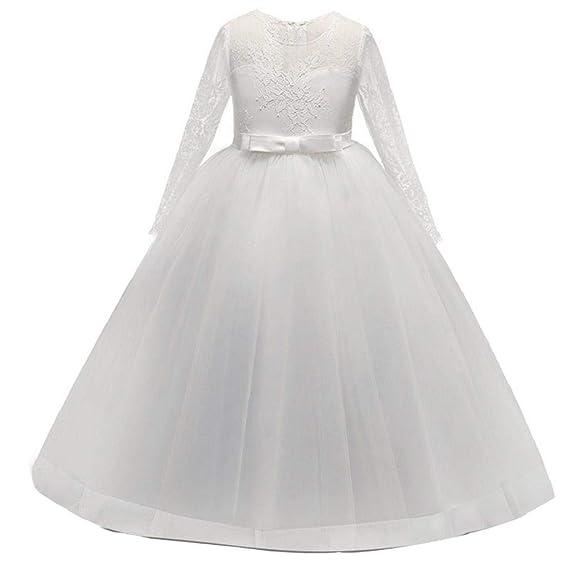 INNEROSE Abito Principessa Belle Manica Bambini Feste Wedding Fantasia  Frozen Gonna Ballerina Elegante Belle Cosplay Festa Compleanno Sera Pageant  Carnevale ... 4e72ca09792