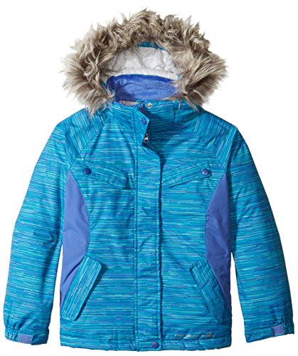Heavyweight Free blue Coat jewel Girls' Country q8w8vE