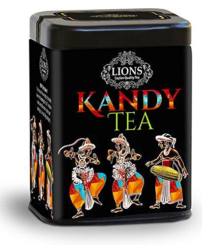 Lions Tea Kandy Bop, Pure Ceylon Black Tea Loose Leaf, 100 g (Ceylon Kandy Black Tea)