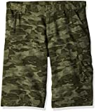 Columbia Boys Silver Ridge Printed Shorts, Cypress Camo, Small