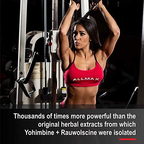ALLMAX Nutrition Yohimbine + Rauwolscine, 60 Capsules by ALLMAX Nutrition (Image #2)